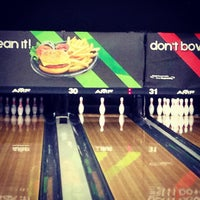 Photo taken at AMF Southshore Lanes by Kathleen O. on 1/21/2013