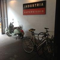 Photo taken at Industria Superstudio by Siena on 8/8/2013