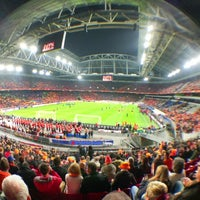 Photo taken at Amsterdam ArenA by Niels G. on 11/14/2012