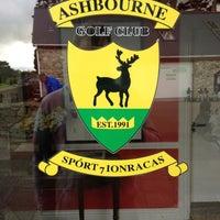 Photo taken at Ashbourne Golf Club by Killian M. on 5/9/2013