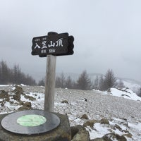 Photo taken at 入笠山 山頂 by phista on 2/17/2018