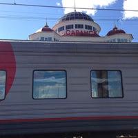 Photo taken at Ж/д вокзал Саранск by Роман В. on 4/29/2013