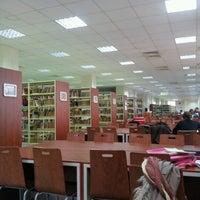 Photo taken at Bilgi Erişim Merkezi by Büşra T. on 12/19/2012