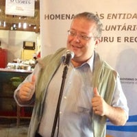 Photo taken at Fazendinha JC Expo Bauru by Alberto D. on 8/15/2014