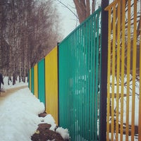 Photo taken at Школа #5 by Elena S. on 2/16/2013