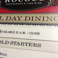 Photo taken at Rococo Restaurant & Fine Wine by Kyle G. on 2/24/2013