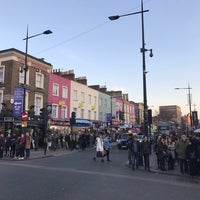 Photo taken at Camden Town by Kaur V. on 2/18/2017