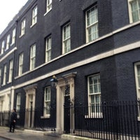 Photo taken at 10 Downing Street by Liz B. on 10/31/2012