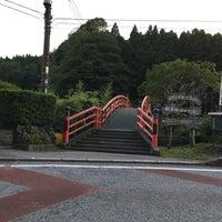 Photo taken at 観音橋 by Yutaka I. on 7/11/2016
