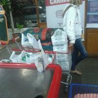 Photo taken at Supermercado Guanabara (Hiper) by Carlinhos M. on 3/24/2013