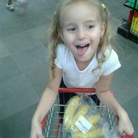 Photo taken at Supermercado Guanabara (Hiper) by Carlinhos M. on 3/7/2014