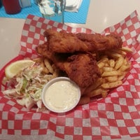 Photo taken at Flynns Fish n Chips by Kent V. on 9/20/2013