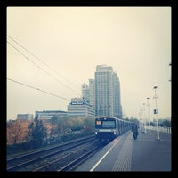 Photo taken at Metrostation Spaklerweg by Tom A. on 11/15/2012