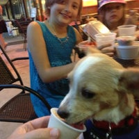 Photo taken at The Hop Ice Cream Cafe by Lisa C. on 8/21/2013