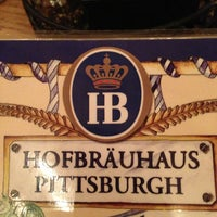 Photo taken at Hofbräuhaus Pittsburgh by Chris C. on 2/3/2013