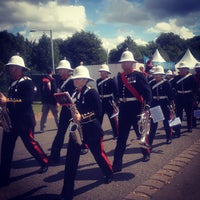 Photo taken at London 2012 Horse Guards Parade by Standard A. on 12/3/2012
