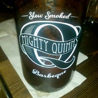 Photo taken at Mighty Quinn's BBQ by Chris T. on 3/2/2013