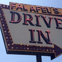 Photo taken at Falafel's Drive-In by ✈Tom S. on 6/30/2013