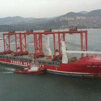 Photo taken at İzmir Limanı by Recep A. on 3/29/2013