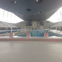 Photo taken at Better London Aquatics Centre by Channer on 3/20/2014