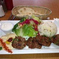 Photo taken at Cafe Falafel by Steven M. on 12/17/2013