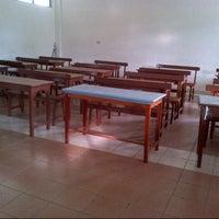 Photo taken at XI IS 1 SMA Santo Yosef by Andri G. on 11/24/2013