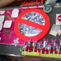 Photo taken at XI IS 1 SMA Santo Yosef by Andri G. on 4/7/2014