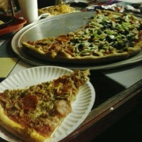 Photo taken at East Side Pizza by Aline L. on 1/16/2013