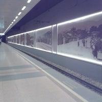 Photo taken at Osmangazi Metro İstasyonu by Sena on 4/25/2013