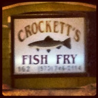 Photo taken at Crockett's Fish Fry by Chip D. on 2/10/2013