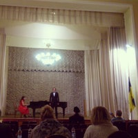 Снимок сделан в Київський будинок вчених НАН України пользователем Svetlana T. 2/23/2013