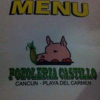 Foto tomada en Pozoleria Castillo por Leonardo R. el 12/29/2012