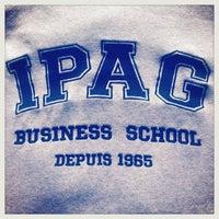 Das Foto wurde bei IPAG Business School von Ipag B. am 4/2/2013 aufgenommen