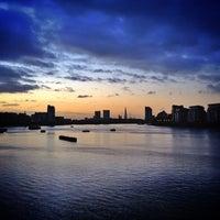 Photo taken at Greenwich Pier by Pedrinho B. on 2/26/2014