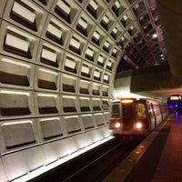Photo taken at Pentagon Metro Station by Daniel B. on 1/15/2013