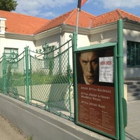 Photo taken at Jòzsef Attila emlèkmùzeum by Naszály F. on 7/14/2013