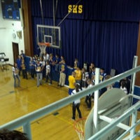 Photo taken at Scobey High School by Paige S. on 10/12/2012