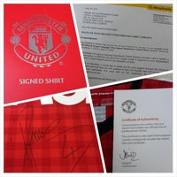 Photo taken at MyManUNITED Clubhouse by Azuan S. on 7/2/2014