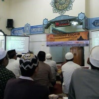 Photo taken at Masjid Ad-Du'a by ari a. on 12/2/2012
