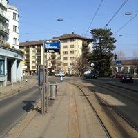 Photo taken at VBZ Post Wollishofen by Rolf H. on 3/3/2013