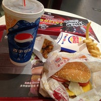 Photo taken at Burger King (汉堡王) by Dette A. on 7/6/2013