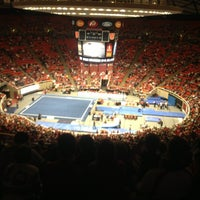 Photo taken at Jon M. Huntsman Center by Amelia K. on 2/10/2013