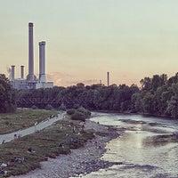 Photo taken at Wittelsbacherbrücke by markus k. on 8/13/2013