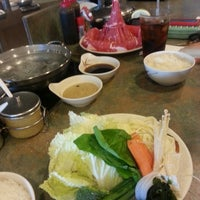 Photo taken at California Shabu-Shabu by Silvia S. on 10/9/2013