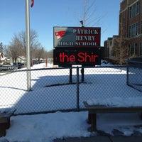 Photo taken at Patrick Henry High School by Mr. K. on 4/20/2013