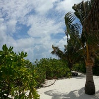 Photo taken at Maadhoo Finolhu by Mohamed A. on 2/12/2013