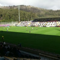 Photo taken at Estádio da Madeira by Roberto S. on 2/24/2013