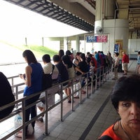 Photo taken at Woodlands Temporary Bus Interchange by Anh T. on 9/6/2013