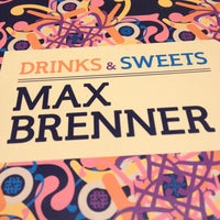 Photo taken at Max Brenner Chocolate Bar by Lynn N. on 12/30/2012