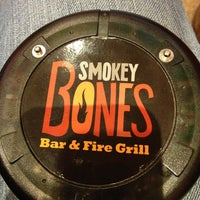 Photo taken at Smokey Bones Bar & Fire Grill by Mooney M. on 3/26/2013